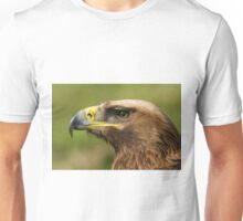 Close-up of golden eagle head with catchlight Unisex T-Shirt
