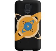 Solar System To Scale - Concentric Samsung Galaxy Case/Skin