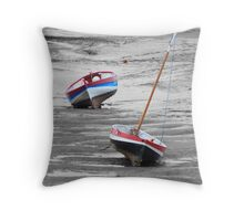 Awaiting the Tide Throw Pillow