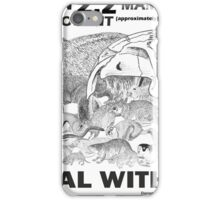 There are a lot of rodents iPhone Case/Skin