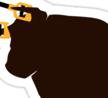 Unstoppabull (Unstoppable Bull) grabber arms Sticker