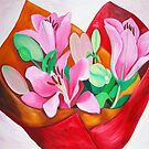 Valentines Bouquet by marlene veronique holdsworth