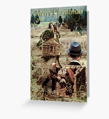 For the Love of Merry Christmas Evonski. Greeting Card