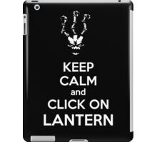 Thresh - League of Legends - Keep Calm and Click On Lantern - White iPad Case/Skin