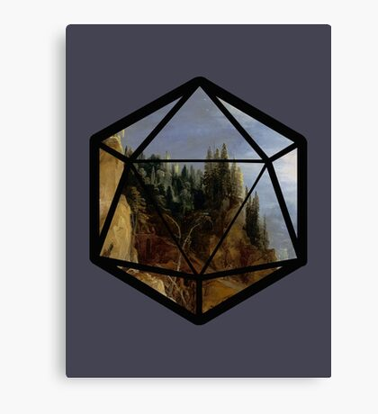 D20 Adventures Canvas Print
