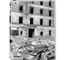 Paris 1975 a forgotten past and now destroyed  Olao-Olavia by Okaio Créations   n10 (h) iPad Case/Skin
