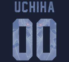 "Uchiha Jersey #00 ""Away"" by Aaronoftheyear"