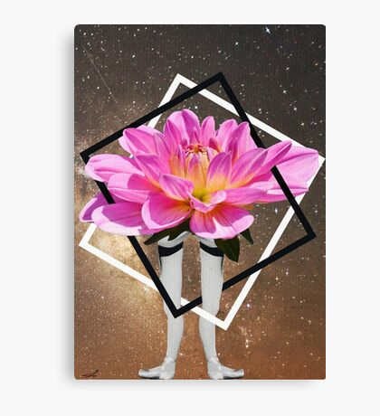 Have a flower and carry on. Canvas Print