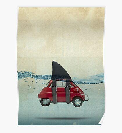 isetta shark Poster