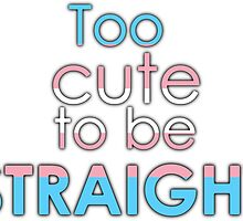Too cute to be straight - transexual by Margotte