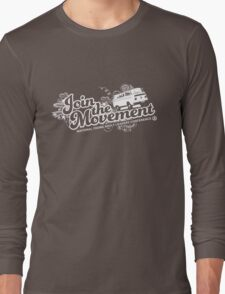 Join the movement - white Long Sleeve T-Shirt