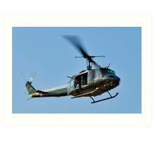 Bell UH-1 Iroquois Helicopter - (Huey) Art Print