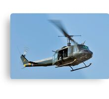 Bell UH-1 Iroquois Helicopter - (Huey) Metal Print
