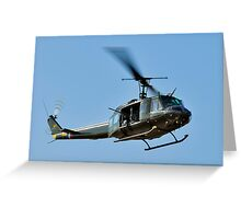 Bell UH-1 Iroquois Helicopter - (Huey) Greeting Card