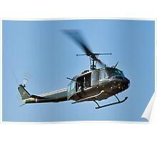 Bell UH-1 Iroquois Helicopter - (Huey) Poster