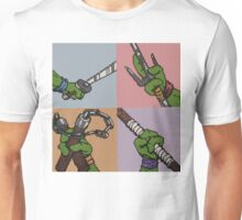 8-Bit Ninja Turtles Unisex T-Shirt