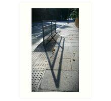 Street Shadows Art Print