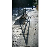 Street Shadows Photographic Print