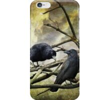 Two Crows iPhone Case/Skin