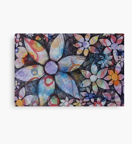 Energy Blossoms Canvas Print