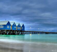 busselton jetty 2 by michelle robertson