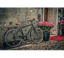 Vintage bicycle Photographic Print