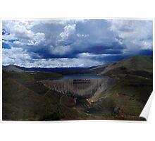 Katse Dam, Lesotho Poster