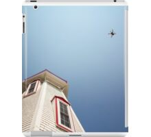 lighthouse and drone iPad Case/Skin