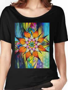 Flowering Life Women's Relaxed Fit T-Shirt