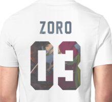 Zoro Jersey #03 Unisex T-Shirt