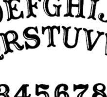 Ouija Board - Spirit Circle - Occult Reading Sticker