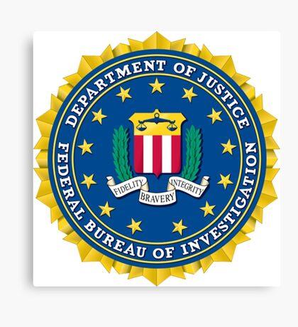 Federal Bureau of Investigation Canvas Print
