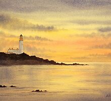 Sunset at Turnberry by bill holkham