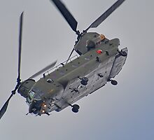 RAF Odiam Display Chinook - Dunsfold 2013 by Colin J Williams Photography