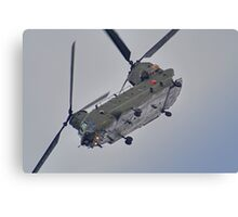 RAF Odiam Display Chinook - Dunsfold 2013 Canvas Print