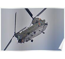 RAF Odiam Display Chinook - Dunsfold 2013 Poster