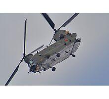 RAF Odiam Display Chinook - Dunsfold 2013 Photographic Print
