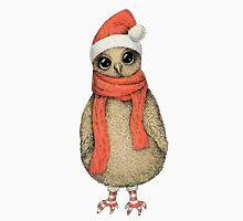 Christmas Owl Unisex T-Shirt