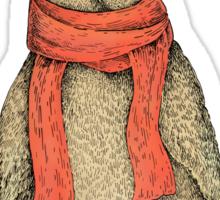 Christmas Owl Sticker