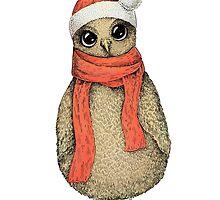 Christmas Owl by Eugenia Hauss