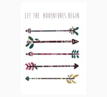 Let The Adventures Begin Kids Clothes