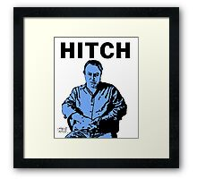 Hitch - Christopher Hitchens Framed Print