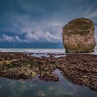 Storm At Freshwater Bay #2 by manateevoyager