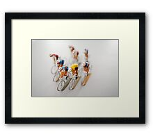 Cyclists 1 Framed Print