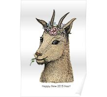Goat - Sign of 2015 Year Poster