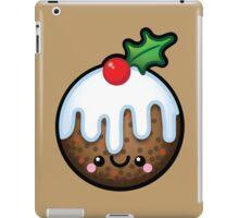 Cute Kawaii Christmas Pudding iPad Case/Skin