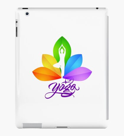 yoga, lifestyle iPad Case/Skin