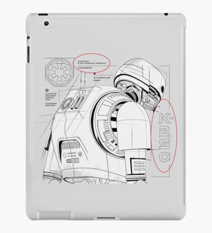 K-2SO from Rogue One iPad Case/Skin