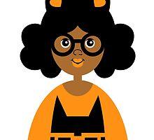 Girl 17 - Halloween Kitty Cat by TabithaBianca