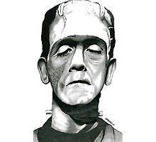 Herman Munster - Frankenstein Photographic Print